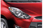 Hyundai ix20, Detail, Scheinwerfer, Glowing Red