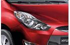 Hyundai ix20, Detail, Scheinwerfer, Glowing Red