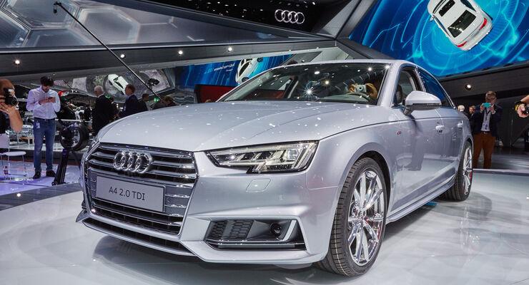 IAA 2015, Audi A4