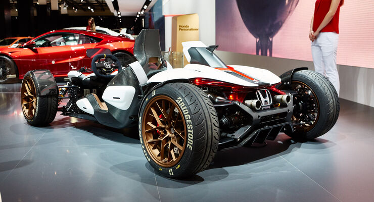 IAA 2015, Honda Project 2&4