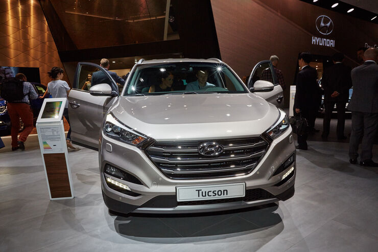 neuer hyundai tucson feiert premiere auf der iaa 2015 auto motor und sport. Black Bedroom Furniture Sets. Home Design Ideas