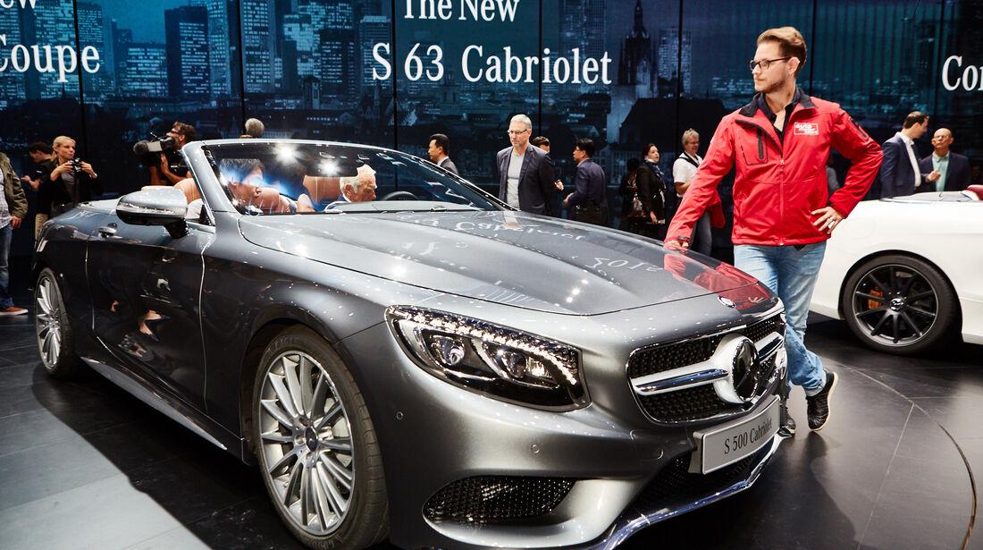 IAA 2015, Mercedes S-Klasse Cabrio