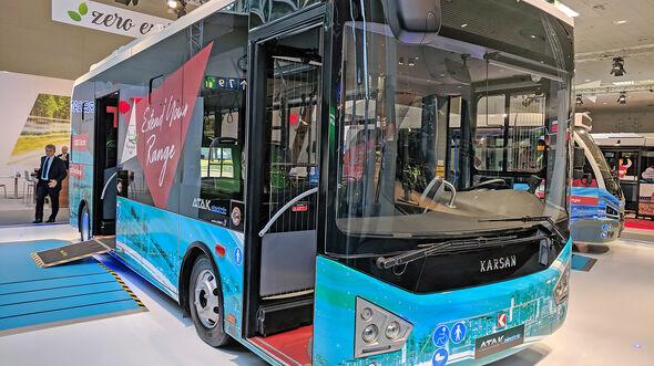 IAA Nutzfahrzeuge 2018 Karsan Atak Electric