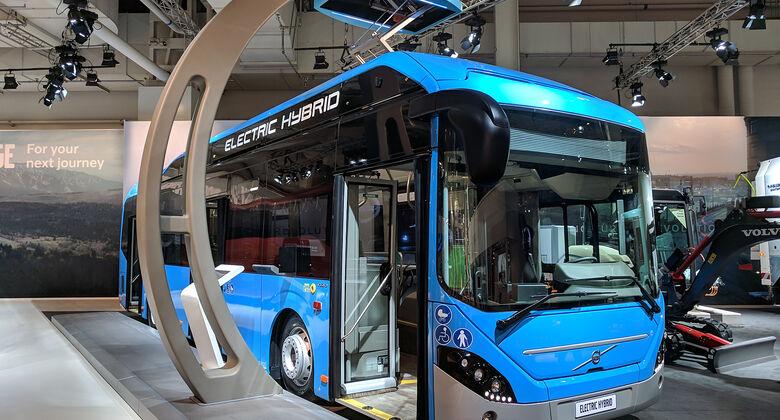 IAA Nutzfahrzeuge 2018 Volvo Electric Hybrid