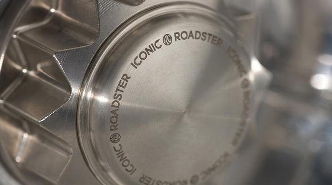 Iconic AC Roadster Radnabe