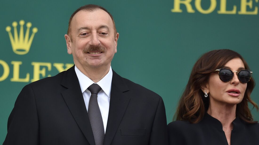 Ilham Aliyev - Formel 1 - GP Aserbaidschan - 29. April 2018