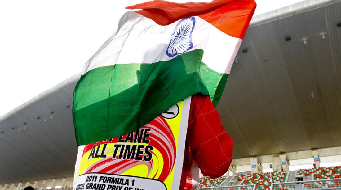Impressionen Delhi GP Indien 2011