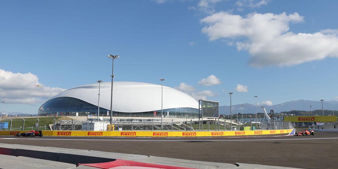 Impressionen - Formel 1 - GP Russland - 10. Oktober 2014