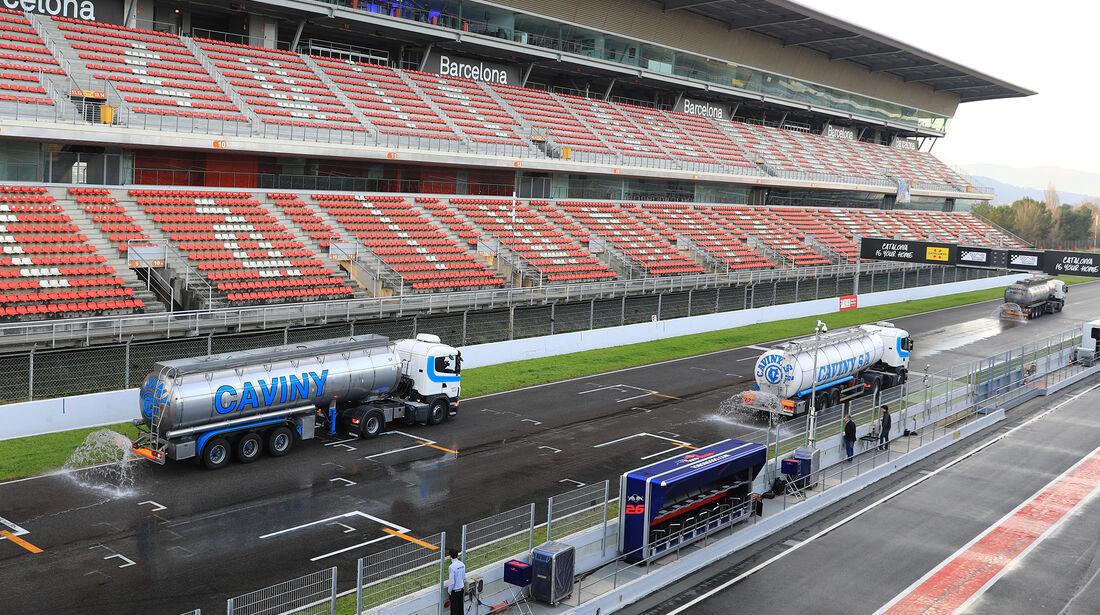Impressionen - Formel 1 - Test - Barcelona - 2. März 2017