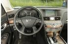 Infiniti M35h GT, Cockpit, Lenkrad