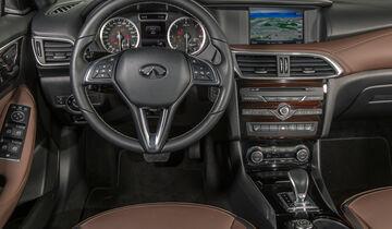 Infiniti QX30 2.2d, Cockpit