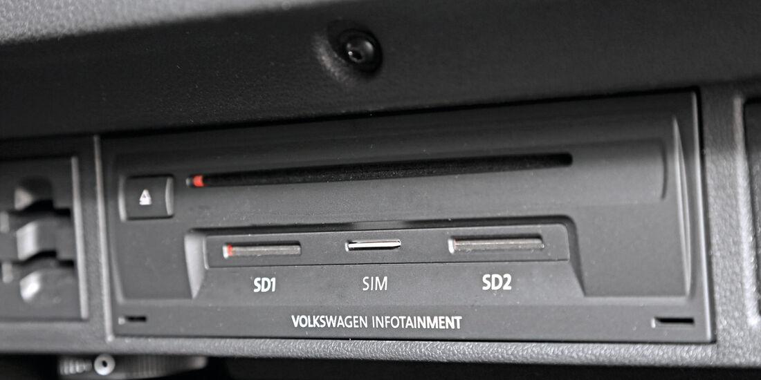 Infotainment, VW Golf, Telefonie