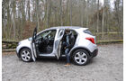 Innenraum-Check Opel Mokka, Fond