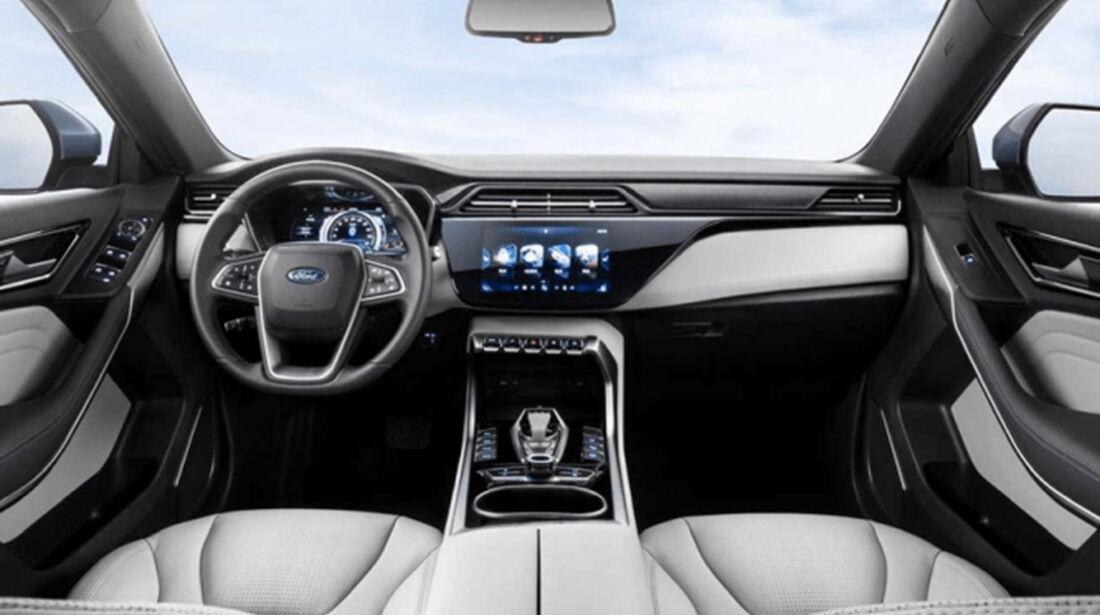 Innenraum des Ford Territory EV