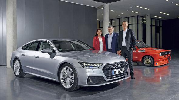 Interview, Hans-Joachim Rothenpieler, Entwicklungsvorstand Audi, ams0619