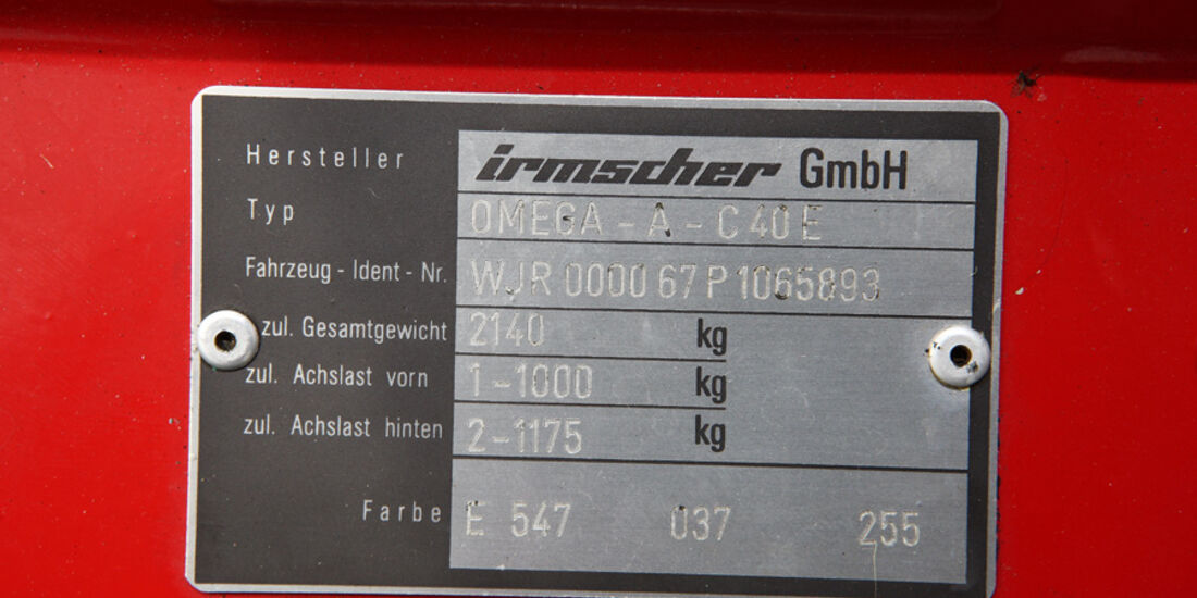 Irmscher Omega C40 E, Baujahr 1991