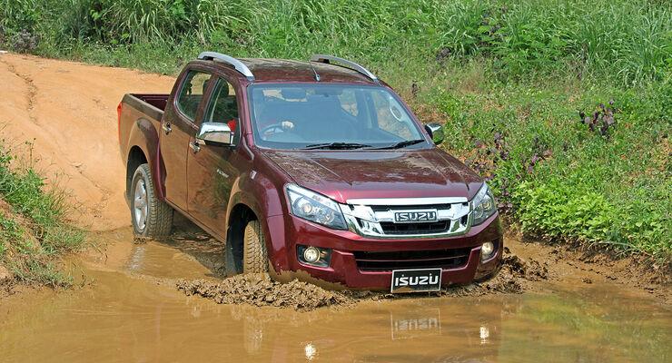 Isuzu D-Max 2012 Pickup Fahrbericht Thailand