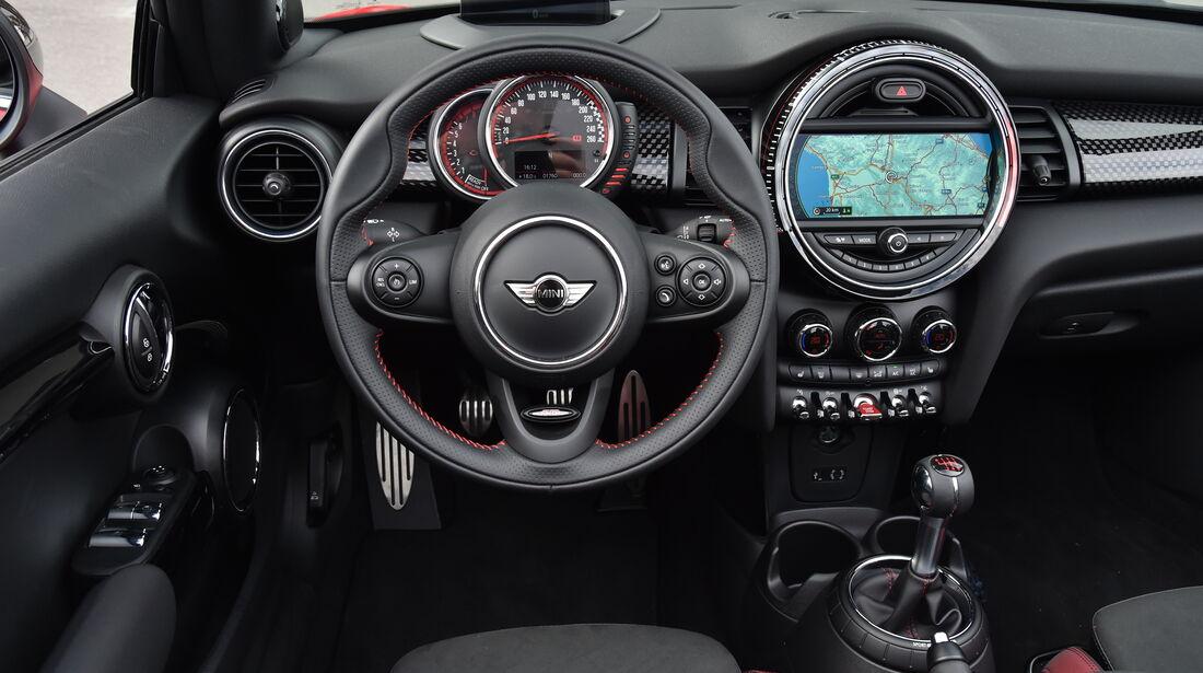 Fahrbericht Mini John Cooper Works Cabrio Auto Motor Und Sport
