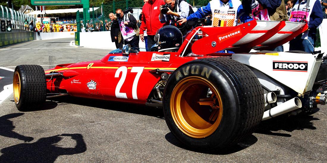 Jacky Ickx - Formel 1 - GP Belgien 2018