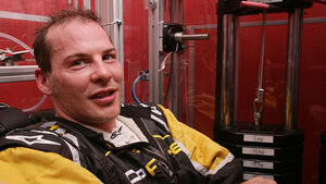 Jacques Villeneuve Trainingsgerät Erwin Göllner