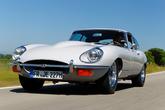 Jaguar E-Type Serie 2 Coupé, Frontansicht