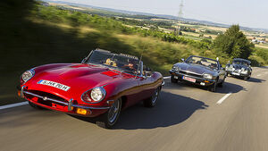 Jaguar E-Type, XK 10 und XJS