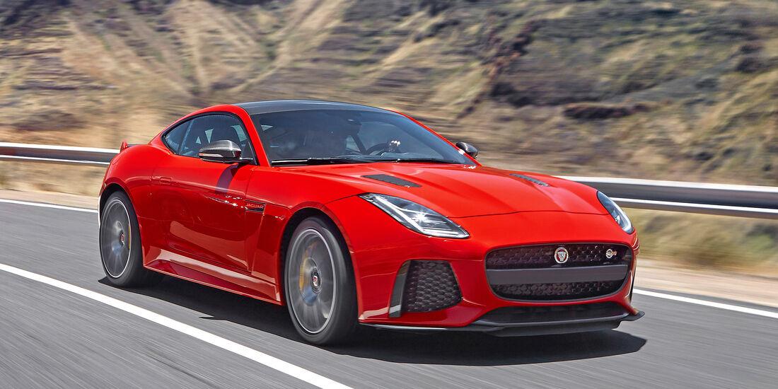 Jaguar F-Type Coupé SVR - Serie - Coupes bis 150000 Euro - sport auto Award 2019