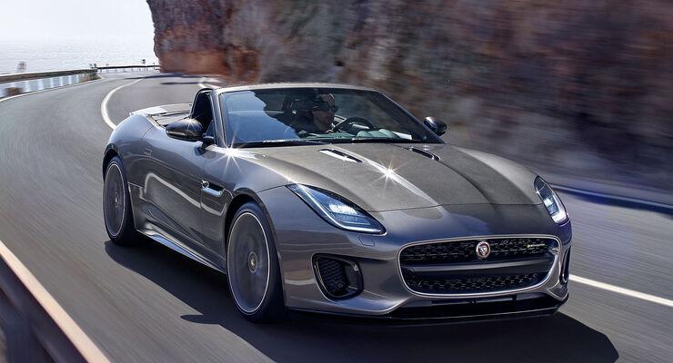 die sch nsten autos 2017 cabrios jaguar f type ist. Black Bedroom Furniture Sets. Home Design Ideas