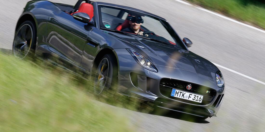 Jaguar F-Type R AWD Cabriolet, Frontansicht