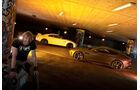 Jaguar F-Type R AWD Coupé, Nissan GT-R, Seitenansicht