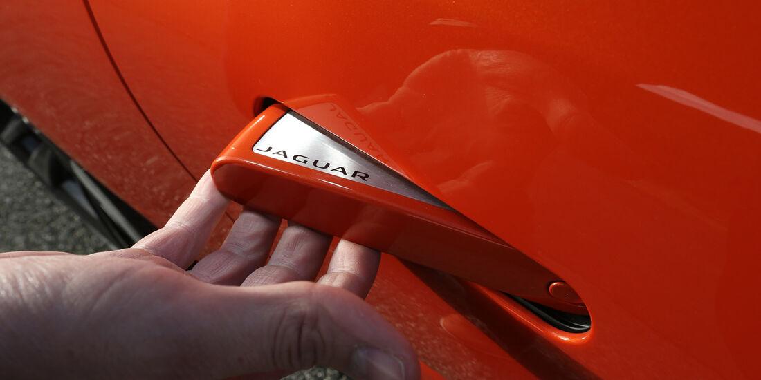 Jaguar F-Type S, Türgriff