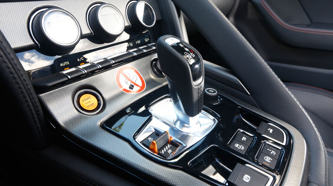 Jaguar F-Type V8 S, Schalthebel