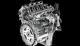Jaguar Ingenium Turbobenziner Motoren