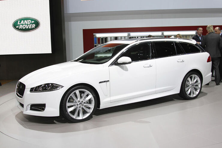 jaguar xf sportbrake auf dem autosalon genf neuer katzen. Black Bedroom Furniture Sets. Home Design Ideas