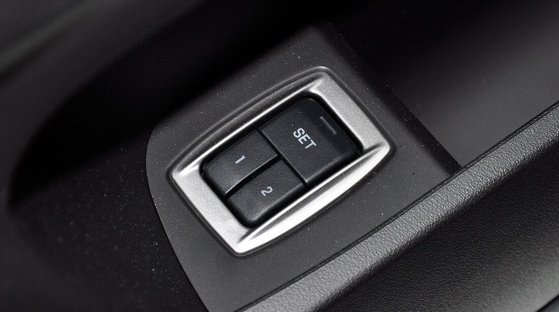 Jaguar XFR, Memory-Funktion, Sitze