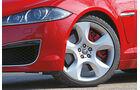 Jaguar XFR, Rad, Felge