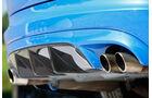 Jaguar XFR-S Sportbrake, Auspuff, Endrohre