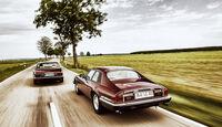 Jaguar XJ6, Jaguar XJ-S 3.6, Heckansicht