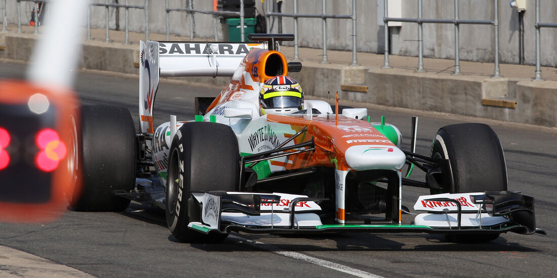 James Calado - Force India - Formel 1 - Young Driver Test - Silverstone - 18. Juli 2013