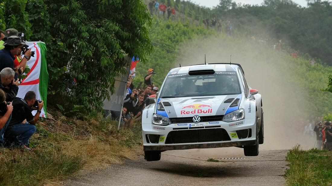 Jari Matti Latvala Rallye Deutschland 2013