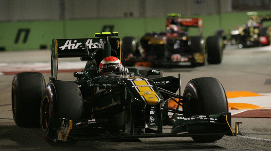 Jarno Trulli GP Singapur 2011