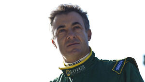 Jean Alesi Lotus 2011