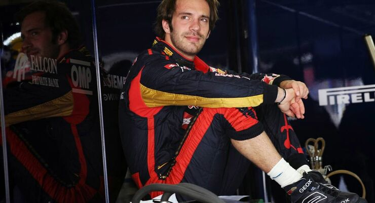 Jean Eric Vergne  - Formel 1 - GP China - 14. April 2012