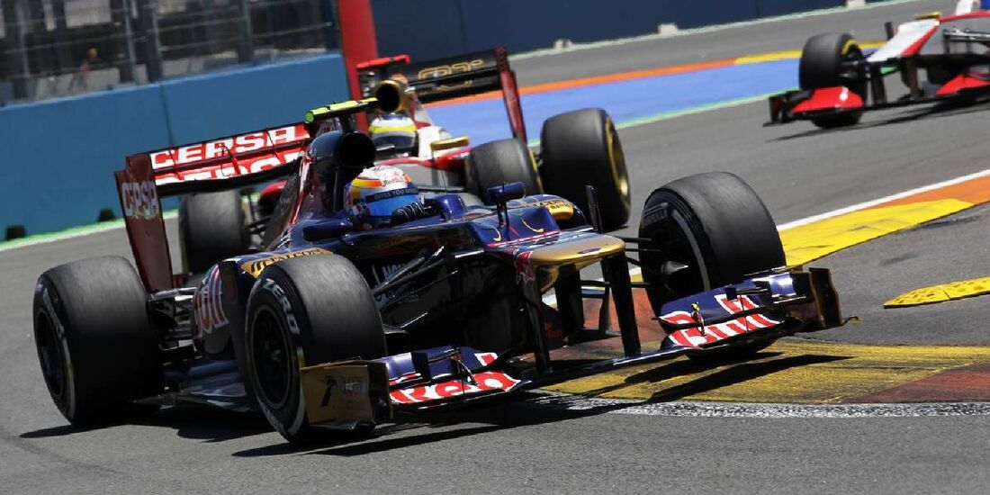 Jean Eric Vergne  - Formel 1 - GP Europa - 24. Juni 2012