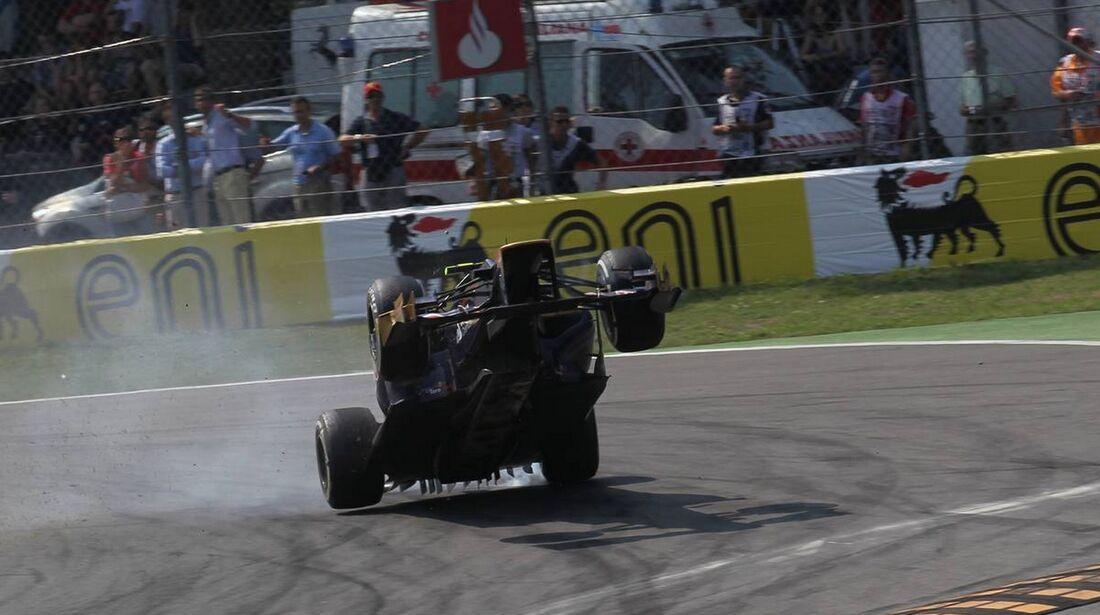 Jean Eric Vergne - Formel 1 - GP Italien - 09. September 2012