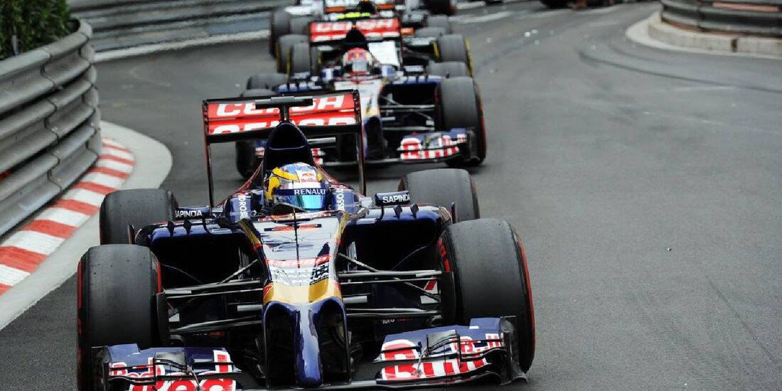Jean-Eric Vergne  - Formel 1 - GP Monaco - 25. Mai 2014