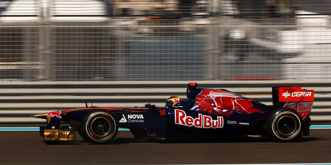 Jean-Eric Vergne - GP Abu Dhabi - Freies Training - 11. November 2011