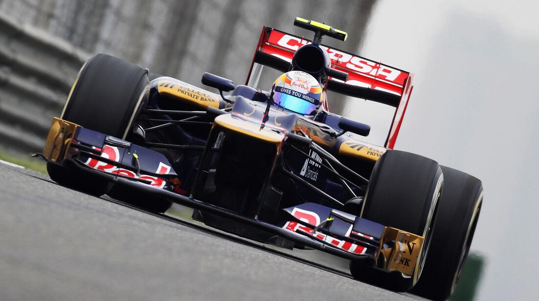 Jean-Eric Vergne GP China 2012