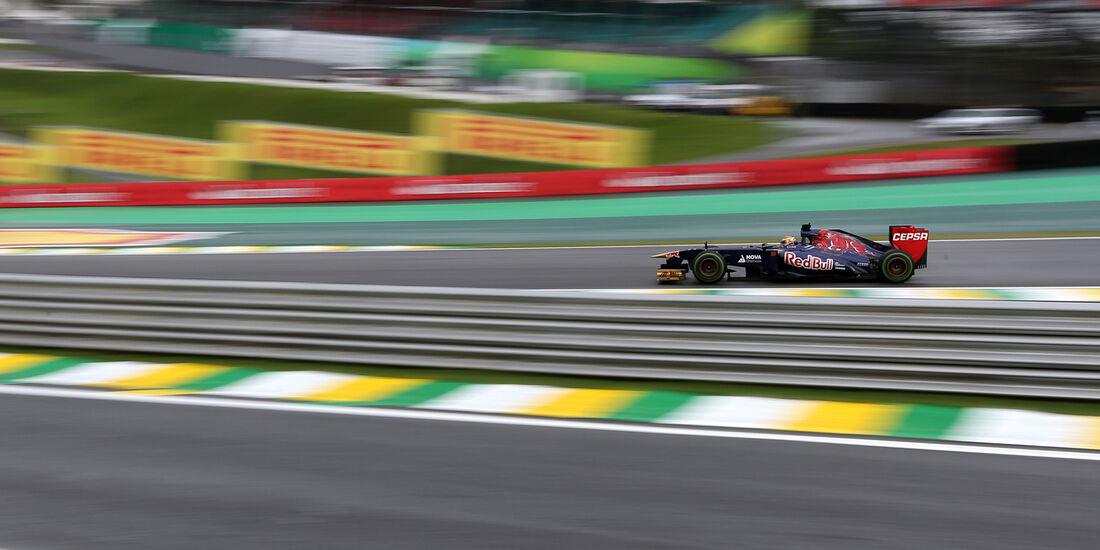 Jean-Eric Vergne - Toro Rosso - Formel 1 - GP Brasilien - 22. November 2013