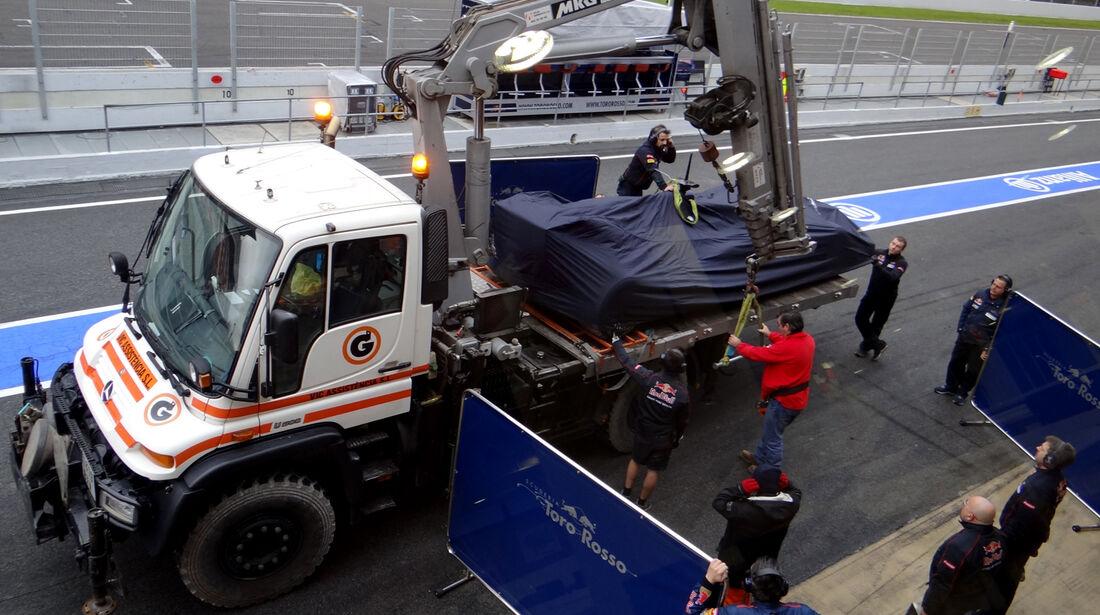 Jean-Eric Vergne - Toro Rosso - Formel 1 - Test - Barcelona - 22. Februar 2013